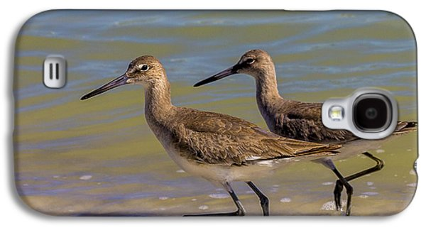 Sandpiper Galaxy S4 Case - Walk Together Stay Together by Marvin Spates