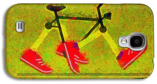 Walking Bike - Pa Galaxy S4 Case by Leonardo Digenio