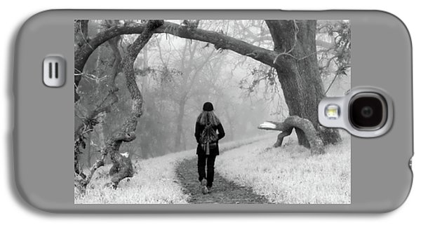 Walking Into The Unknown Galaxy S4 Case by Alessandra RC