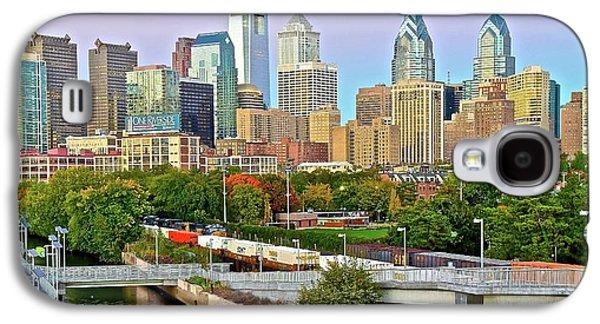 Walking Path To Philadelphia Galaxy S4 Case