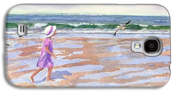 Walking The Cape Galaxy S4 Case by Laura Lee Zanghetti