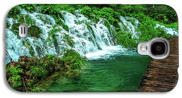 Walking Through Waterfalls - Plitvice Lakes National Park, Croatia Galaxy S4 Case