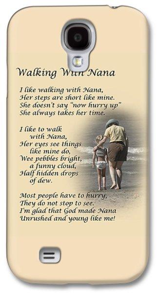 Walking With Nana Galaxy S4 Case