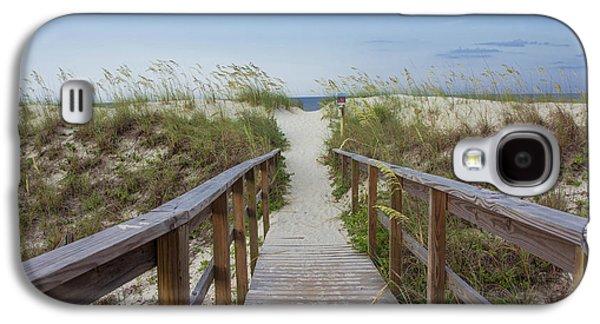 Walkway To The Beach Galaxy S4 Case by Zina Stromberg
