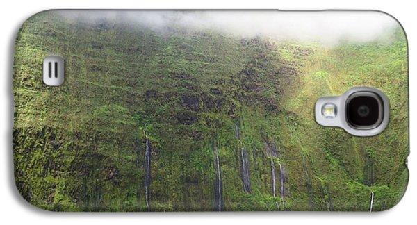 Wall Of Tears At Molokai Island Galaxy S4 Case by Stacia Blase