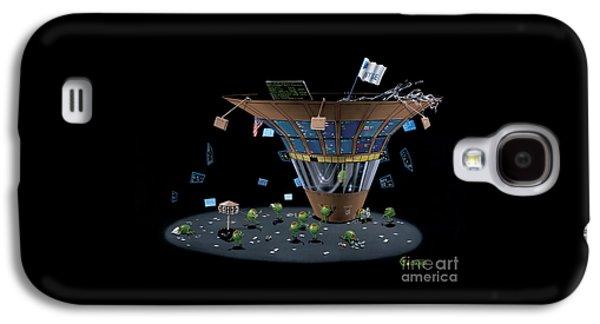 Martini Galaxy S4 Case - Wall St Martini by Michael Godard