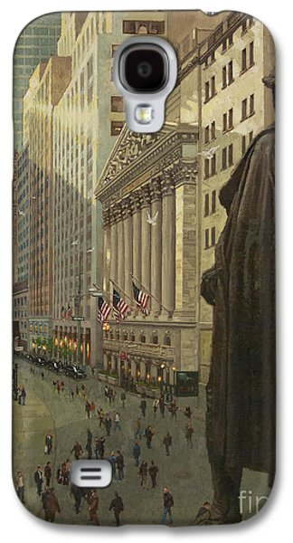 Wall Street 1 Galaxy S4 Case
