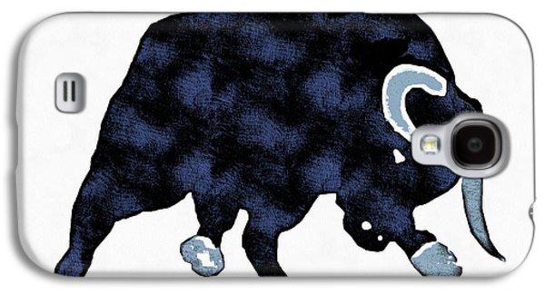 Wall Street Bull Market Series 1 Galaxy S4 Case by Edward Fielding