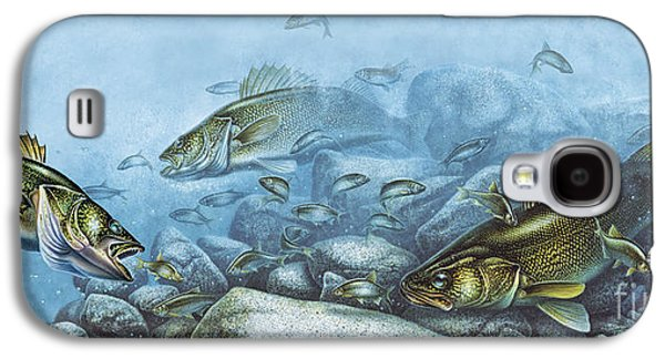Walleye Reef Galaxy S4 Case by JQ Licensing