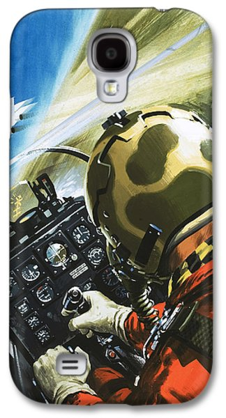 War In The Air Galaxy S4 Case by Wilf Hardy