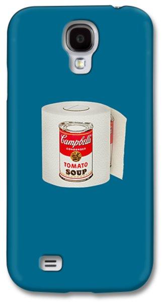 War Roll - Poop Art Galaxy S4 Case by Nicholas Ely