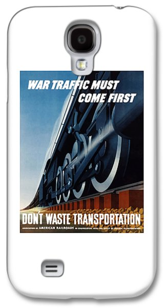 Train Galaxy S4 Case - War Traffic Must Come First by War Is Hell Store