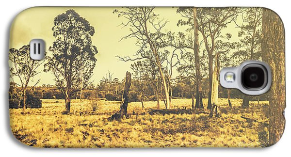 Waratah Tasmania Bush Landscape Galaxy S4 Case
