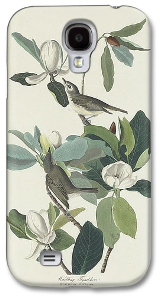 Flycatcher Galaxy S4 Case - Warbling Flycatcher by Dreyer Wildlife Print Collections
