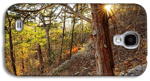 Warmth Of Comfort - Blowing Springs Trail In Bella Vista Arkansas Galaxy S4 Case by Lourry Legarde