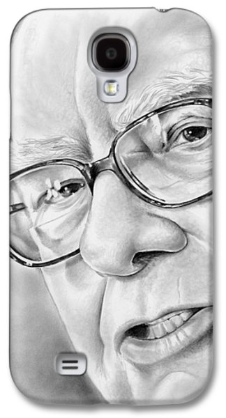 Warren Buffett Galaxy S4 Case by Greg Joens