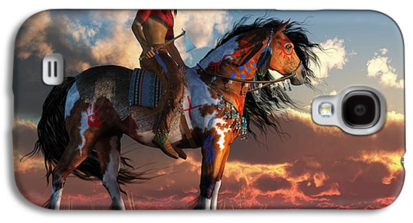 Warrior And War Horse Galaxy S4 Case