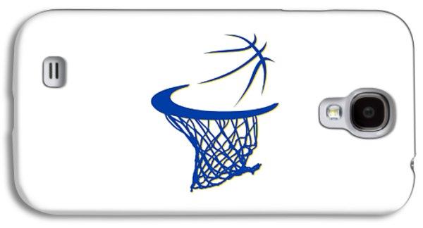 Warriors Basketball Hoop Galaxy S4 Case