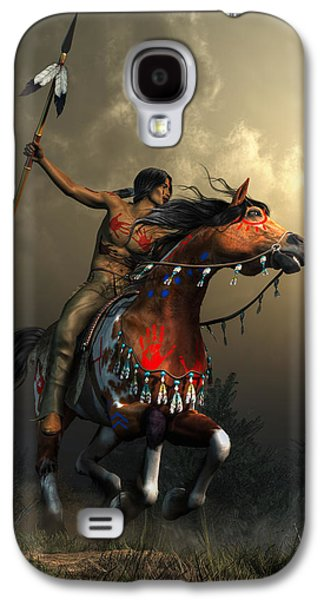 Warriors Of The Plains Galaxy S4 Case by Daniel Eskridge