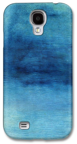 Wash Away- Abstract Art By Linda Woods Galaxy S4 Case