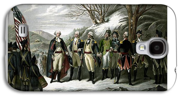 Washington And His Generals  Galaxy S4 Case by War Is Hell Store