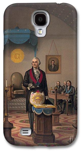 Washington As A Master Mason Galaxy S4 Case