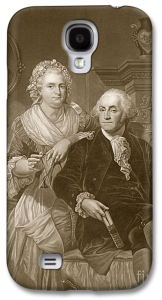 Washington At Home Galaxy S4 Case by Alonzo Chappel