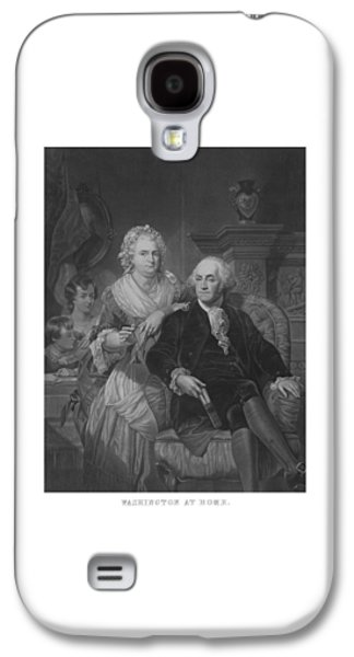 Washington At Home Galaxy S4 Case by War Is Hell Store