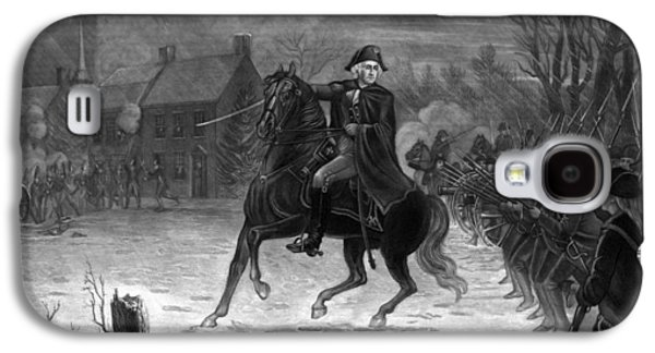 George Washington Galaxy S4 Case - Washington At The Battle Of Trenton by War Is Hell Store
