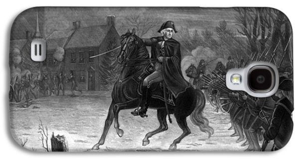 Washington At The Battle Of Trenton Galaxy S4 Case by War Is Hell Store
