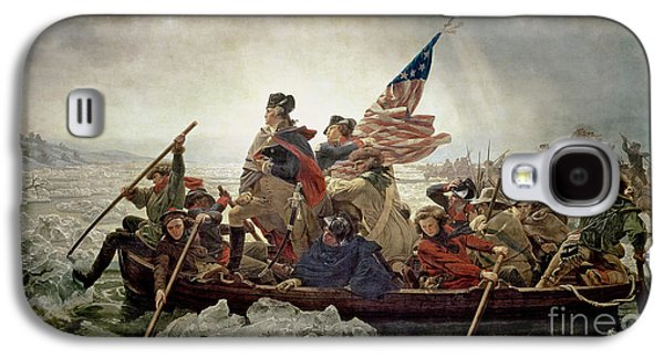 Washington Crossing The Delaware River Galaxy S4 Case by Emanuel Gottlieb Leutze