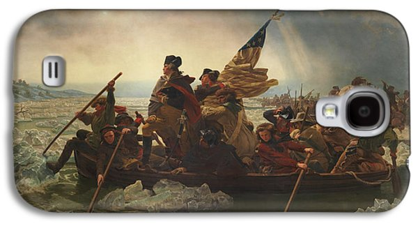 George Washington Galaxy S4 Case - Washington Crossing The Delaware by War Is Hell Store