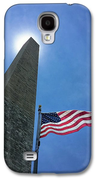Washington Monument Galaxy S4 Case by Andrew Soundarajan
