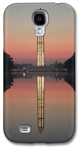 Washington Monument At Dawn Galaxy S4 Case