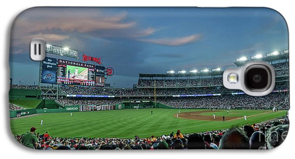 Washington D.c Galaxy S4 Case - Washington Nationals In Our Nations Capitol by Thomas Marchessault