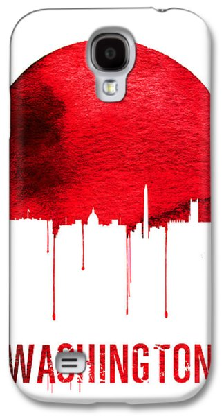 Washington Skyline Red Galaxy S4 Case