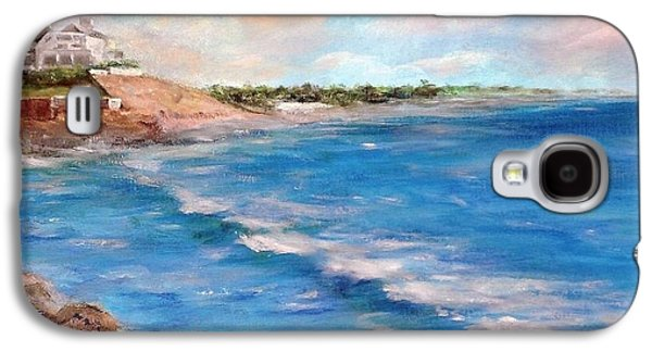 Watch Hill Beach Galaxy S4 Case by Anne Barberi