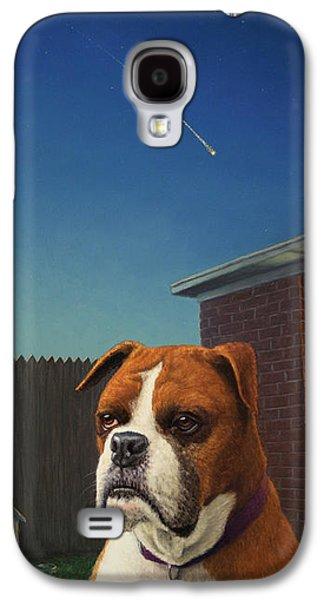 Watchdog Galaxy S4 Case by James W Johnson