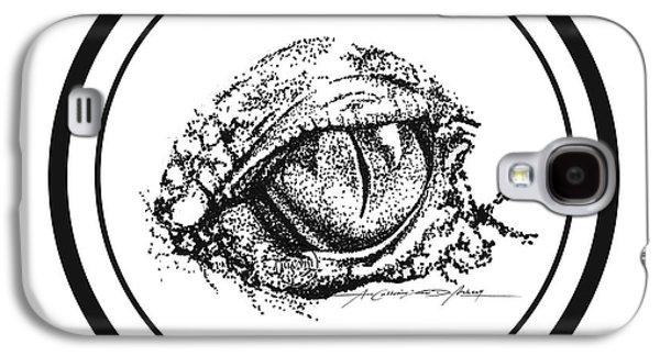 Watchfuleye Galaxy S4 Case by Roa Malubay