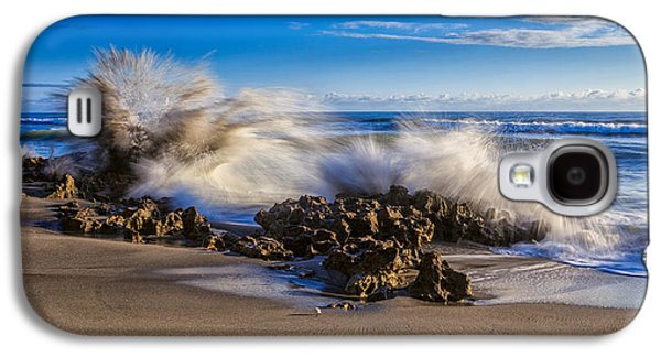 Water And Earth Collide Galaxy S4 Case