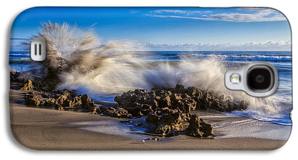Water And Earth Collide Galaxy S4 Case by Andres Leon