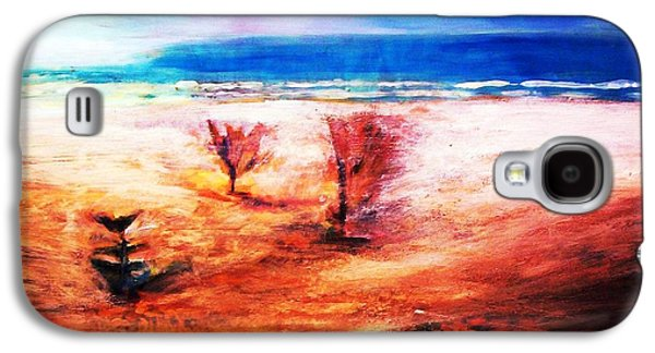 Galaxy S4 Case featuring the painting Water And Earth by Winsome Gunning