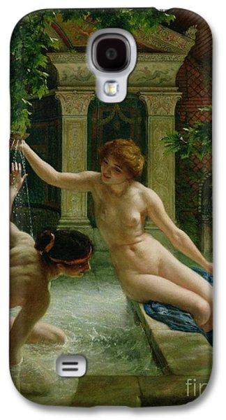 Lesbian Paintings Galaxy S4 Cases - Water Babies Galaxy S4 Case by Sir Edward John Poynter