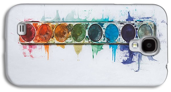Water Colors Galaxy S4 Case