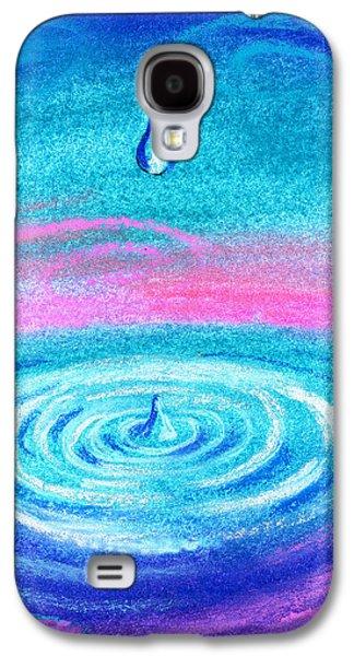 Water Drop Galaxy S4 Case by Leon Zernitsky