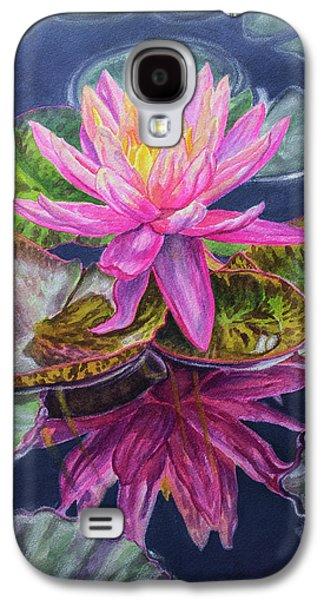Water Lilies 17 Sunfire Galaxy S4 Case