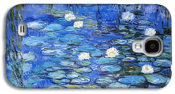 water lilies a la Monet Galaxy S4 Case