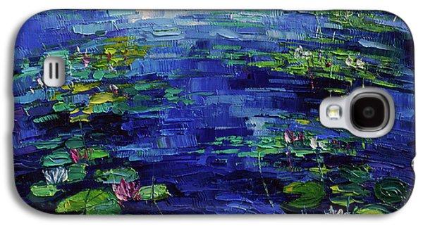 Water Lilies Magic Galaxy S4 Case