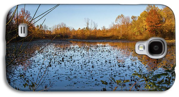Water Lily Evening Serenade Galaxy S4 Case
