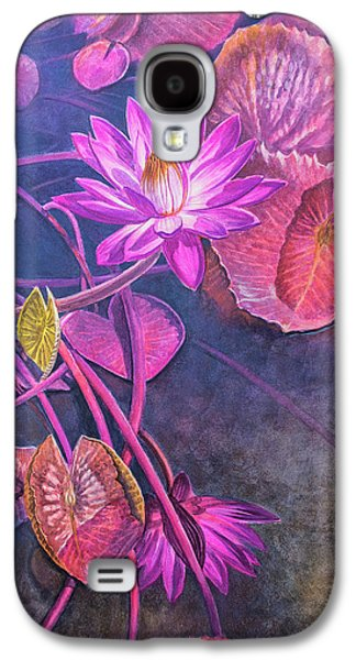 Water Lily Pond Galaxy S4 Case